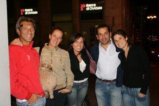 Pier, Sylvia, Ariana, Francesco, Elisabeth