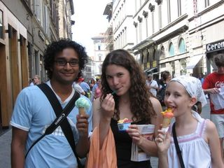 Gelato in Florence