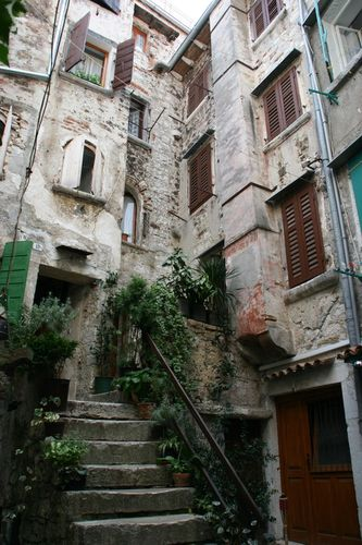 In the town of Rovinj