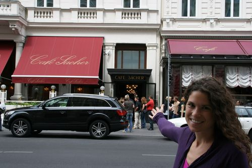 Hotel Sacher, home of the Sacher Torte